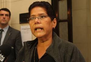 Janira Rocha, do PSOL, está na mira do Conselho de Ética Foto: Divulgação Alerj/26-11-2013