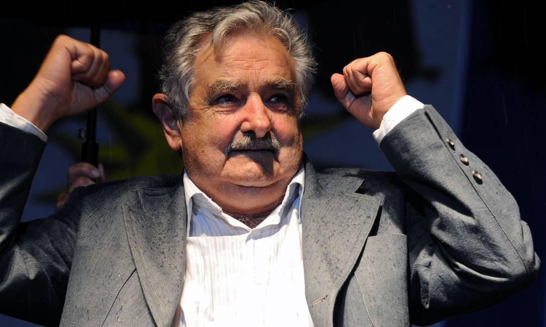 Para revista, José Pepe Mujica é ousado, humilde e sincero Foto: PABLO PORCIUNCULA/AFP