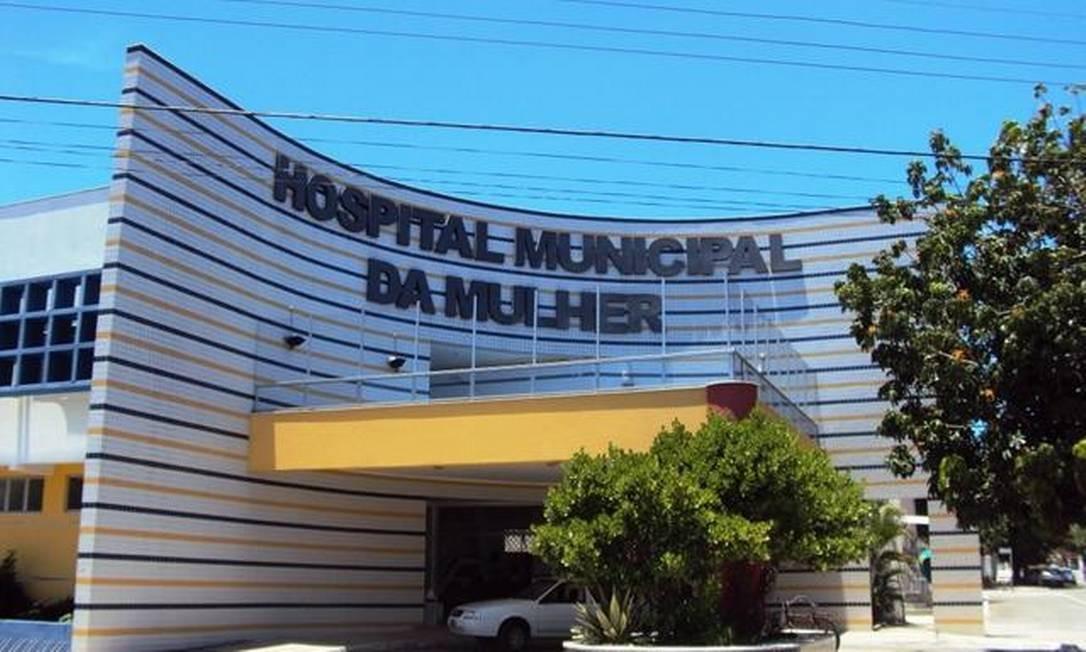 O hospital em Cabo Frio onde mulher foi operada com gravidez psicológica Foto: Eduander Silva / Rádio Litoral