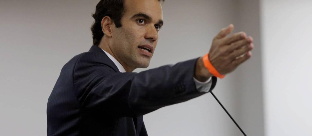 Michel Assef Filho, advogado do Flamengo no STJD Foto: Cezar Loureiro / Agência O Globo