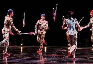 Corteo, o novo espetáculo do Cirque du Soleil Foto: Divulgação