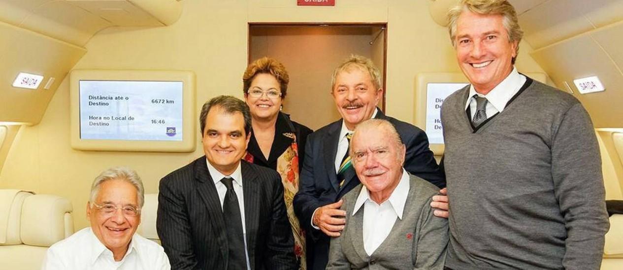 Ex Primeira Dama, Marisa Letícia tem morte cerebral confirmada... FH_Dilma_Lula_Sarney_Collor