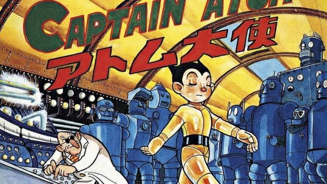O personagem Astro Boy, de Osamu Tezuka Foto: Divulgação