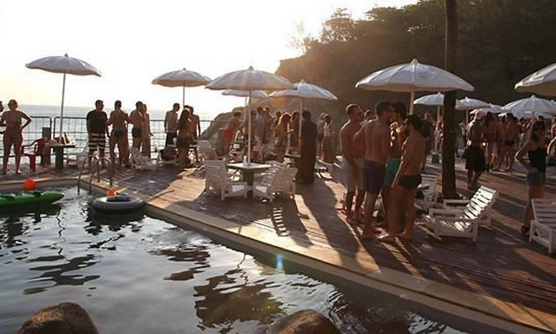 A piscina do Costa Brava Foto: Divulgação/Eduardo Llerena