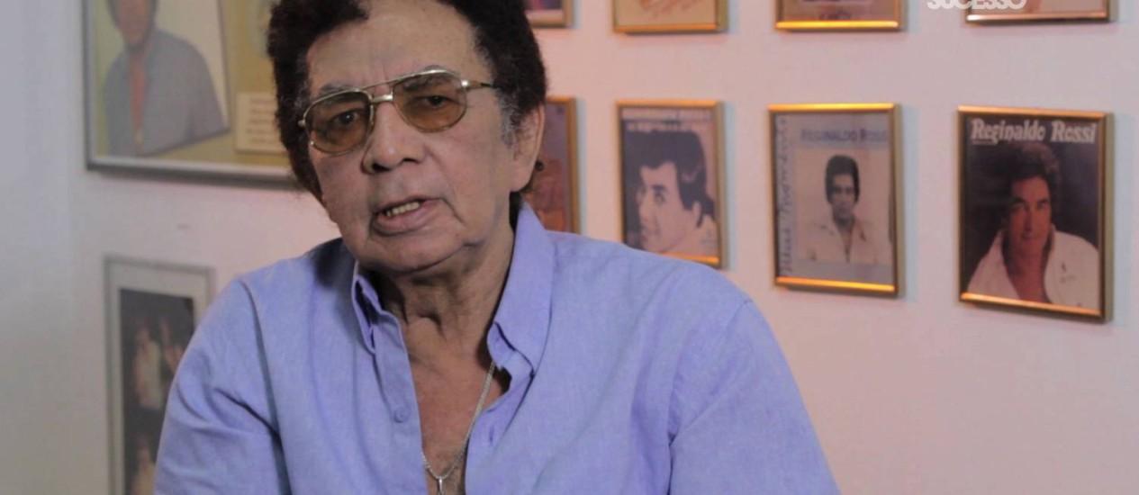 Cantor morreu na sexta-feira vítima de falência múltipla do órgãos Foto: Terceiro / Divulgação