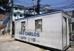 UPP do São Carlos é uma das 36 na cidade do Rio Foto: Agência O Globo / Luiz Ackermann