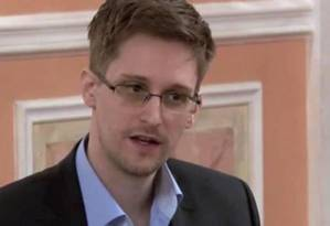 Edward Snowden disse em entrevista que sua missão já foi cumprida Foto: AP