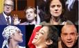 Imagens de 'Como vencer na vida sem fazer força', 'Incêndios', 'Cazuza', 'Elis, a musical' e 'A Arte da comédia'