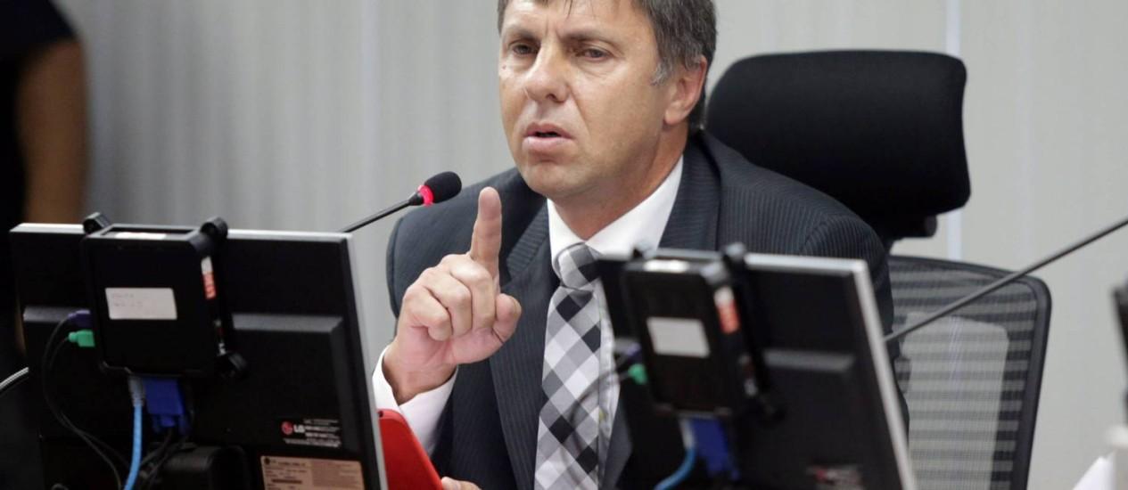 O procurador do STJD, Paulo Schmitt: nova vitória da promotoria no caso da punição à Portuguesa Foto: Cezar Loureiro / Agência O Globo