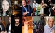 Alguns dos instrumentistas e cantores que se apresentaram no Rio este ano