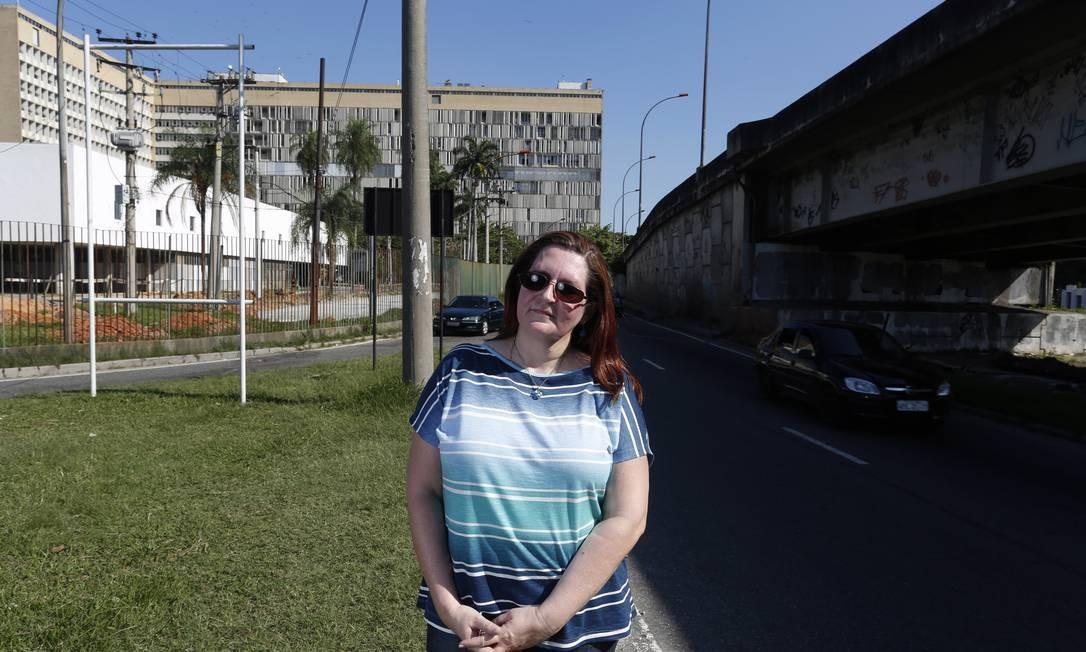 Patricia nora na Tijuca e trabalha no Fundão - Foto: Daniela Dacorso / Agência O Globo