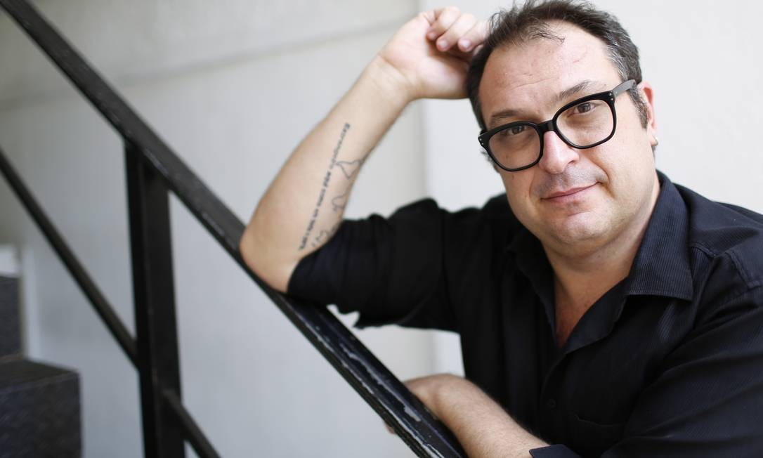 O cineasta Samir Abujamra Foto: Simone Marinho / Agência O Globo