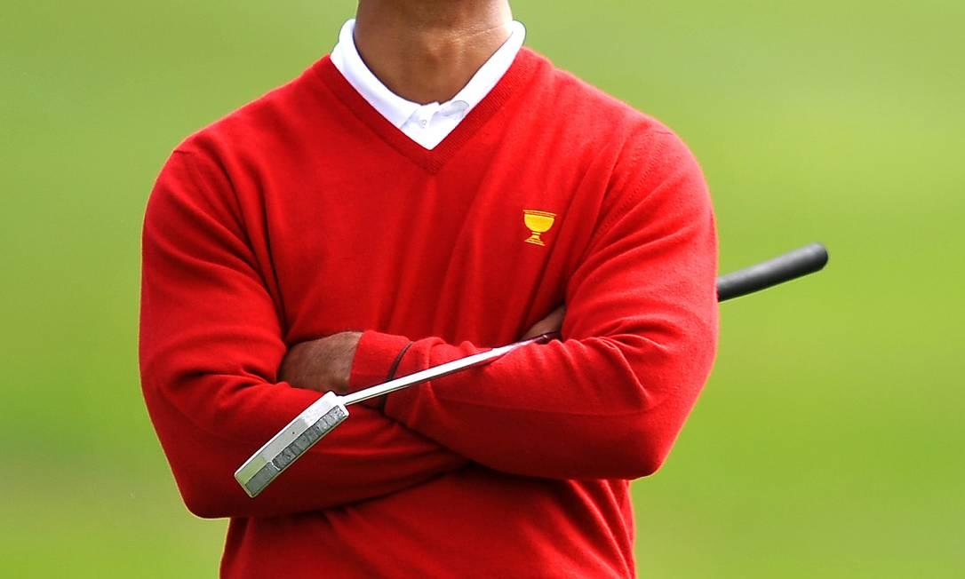 Tiger Woods: depois de reputação arruinada por escândalos sexuais, piadas nas redes sociais Foto: ROBYN BECK / AFP