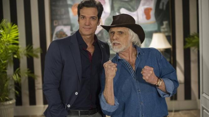 Ignácio ( Carlos Machado ) e Rubão ( Francisco Cuoco ) em cena de 'Amor à vida' Foto: TV Globo/ Estevam Avellar