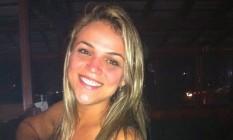 Nívia Araujo foi jogada do terraço pelo ex-namorado no réveillon de 2014 Foto: Reprodução Facebook / Agência O Globo
