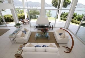 Casa em condomínio fechado de Angra com nove quartos e 1.450 metros quadrados de área construída tem diária de R$ 5 mil Foto: Divulgação/ Júdice Araújo