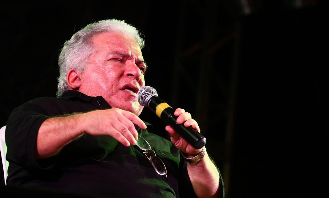 Nelson Ned em show na Virada Cultural de 2008 em São Paulo Foto: Divulgação