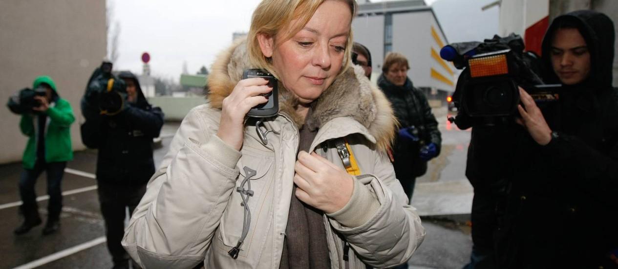 Assessora de Schumacher, Sabine Kehm confirmou que sedação está sendo diminuída Foto: Claude Paris/AP