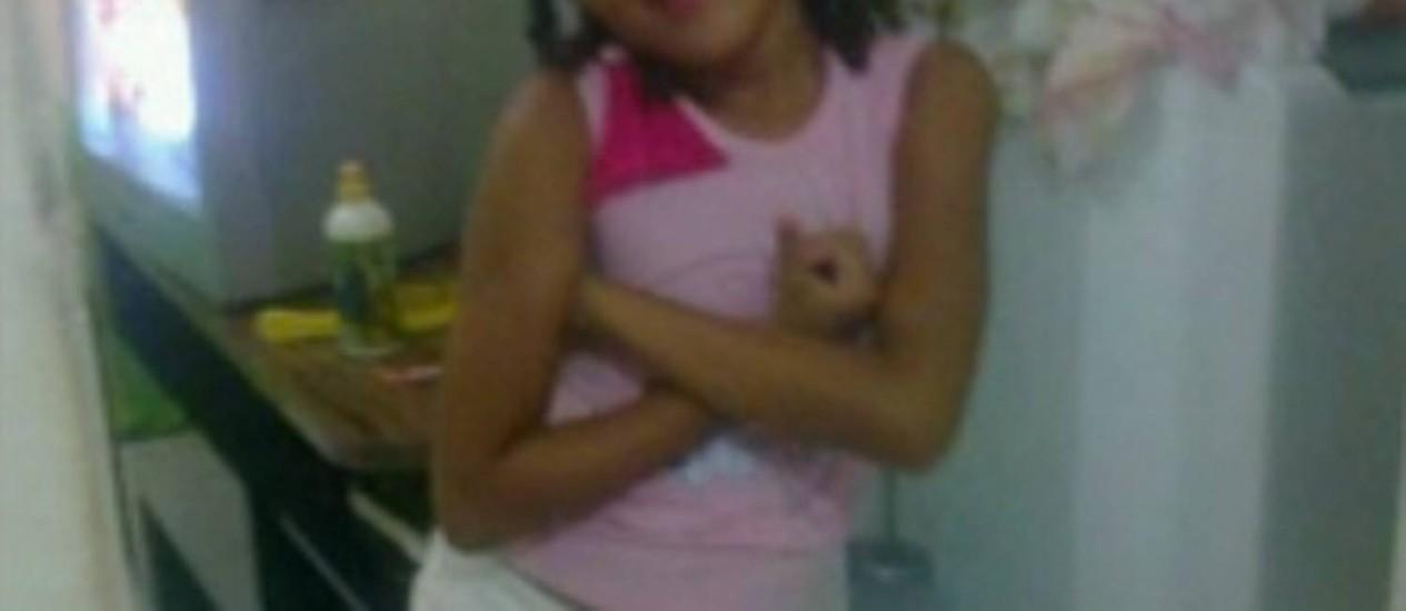 Ana Clara, de 6 anos, morreu após ter mais de 90% do corpo queimado em ataque de bandidos a um coletivo Foto: Reprodução TV