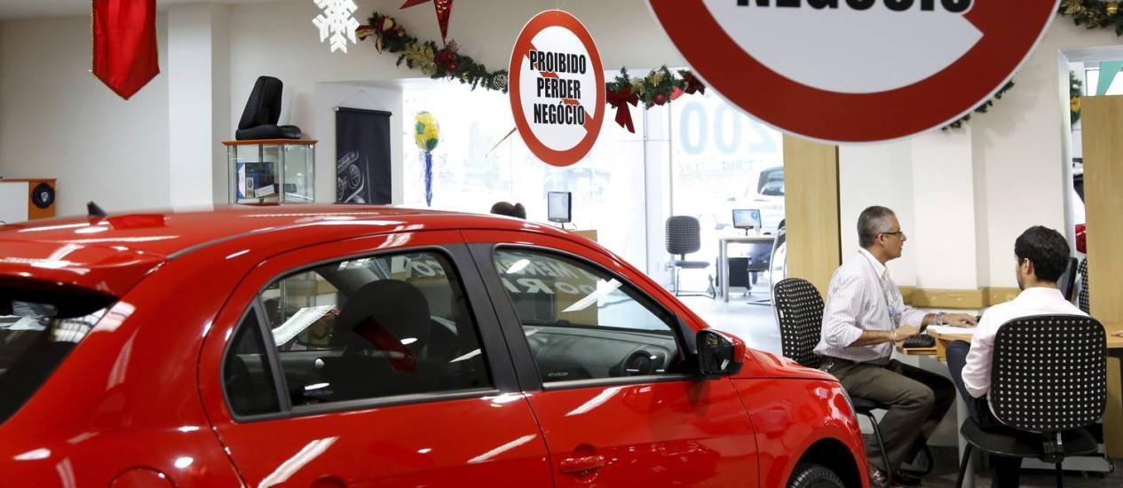 Concessionária da Volkswagen em Laranjeiras, na zona sul do Rio Foto: Mônica Imbuzeiro / Agência O Globo