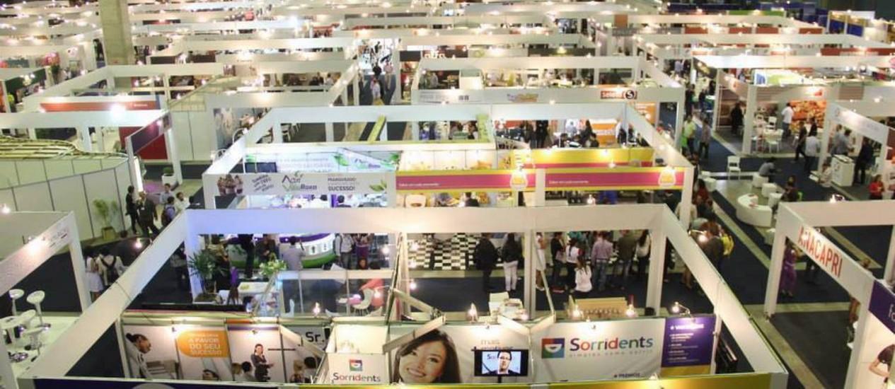 Franquias: Edição de 2013 da Rio Franchising Business, que este ano acontece de 25 a 27 de setembro Foto: Terceiro / Agência O Globo