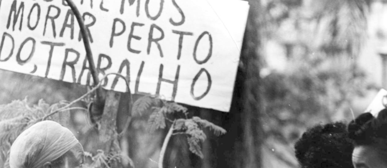Documentário retrata remoção de favelas na Zona Sul Foto: Reprodução / Agência O Globo