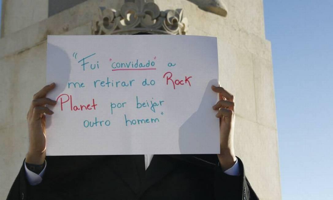 Atos que desrespeitam o público homossexual também são denunciados Foto: Reprodução / Facebook