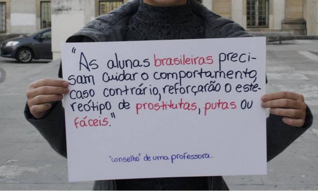 Conselho dado por professora revolta estudante Foto: Reprodução / Facebook