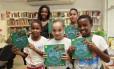 """Jovens escritores. Crianças entre 7 e 12 anos participaram da composição de """"Seu conto é nossa história"""""""