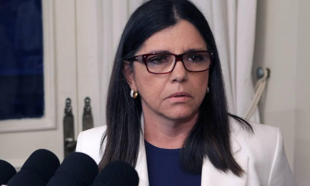 Governadora do Maranhão, Roseana Sarney Foto: Hans von Manteuffel / O Globo