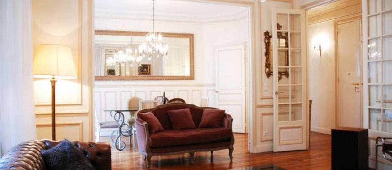 Apartamento em Paris, disponível no Love Home Swap. O destino é o mais procurado por brasileiros Foto: Love Home Swap