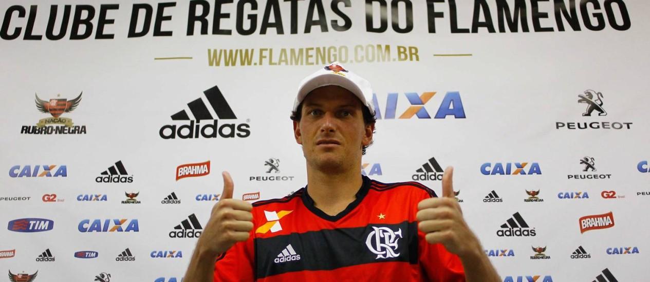 Elano , um dos reforços do Flamengo Foto: Pedro_Kirilos / Agência O Globo