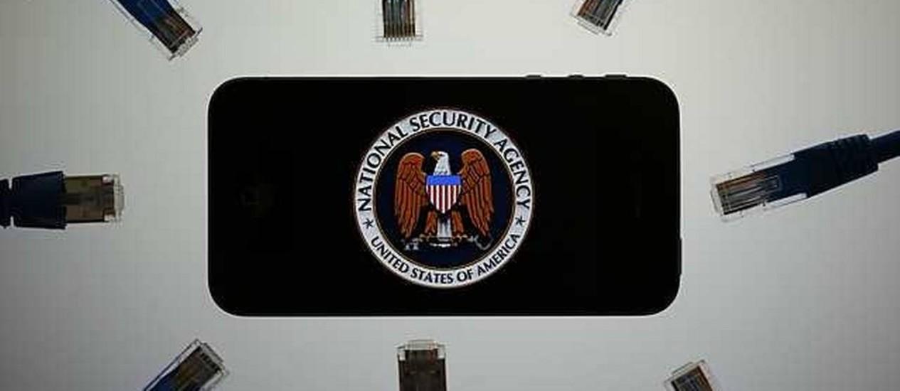 A onipresente e ultraconectada NSA Foto: D&M / Pawel Kopczynski / Reuters