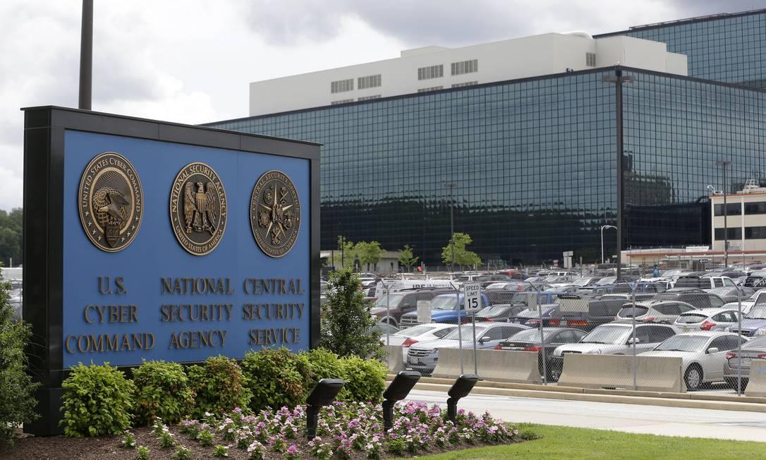 A sede da Agência de Segurança Nacional em Fort Meade, Maryland Foto: Patrick Semansky / AP