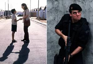 'Central do Brasil' e 'Tropa de Elite' Foto: Montagem