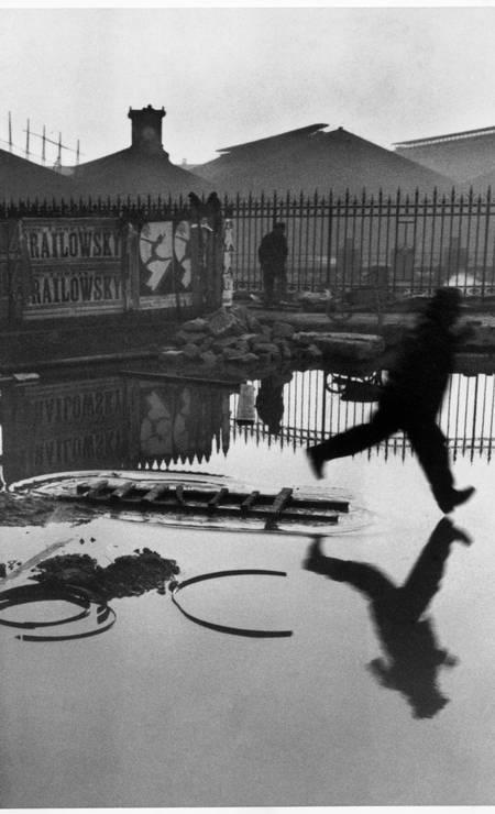 FRANCE. Paris. Place de l'Europe. Gare Saint Lazare. 1932. Foto: Henri Cartier-Bresson / ©Henri Cartier-Bresson / Magnum