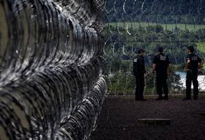 Prisões federais, como a de Catanduvas (PR), são as mais custosas Foto: Marizilda Cruppe / O Globo