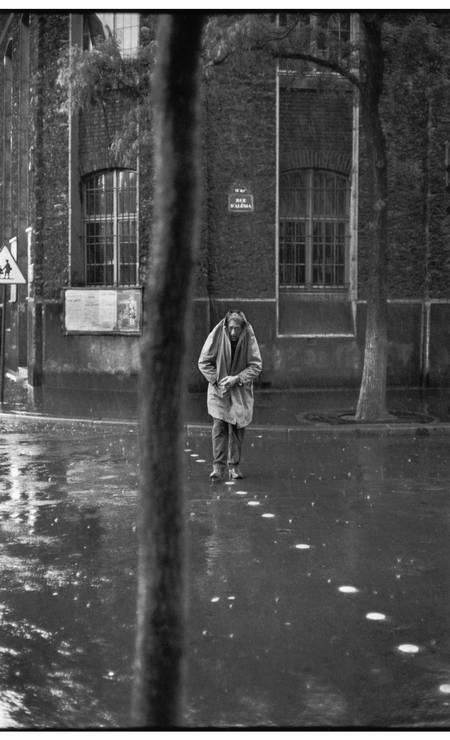 FRANCE. Paris. 14th arrondissement. Rue d'Alésia. Swiss painter and sculptor, Alberto GIACOMETTI. 1961. Foto: Henri Cartier-Bresson / ©Henri Cartier-Bresson / Magnum