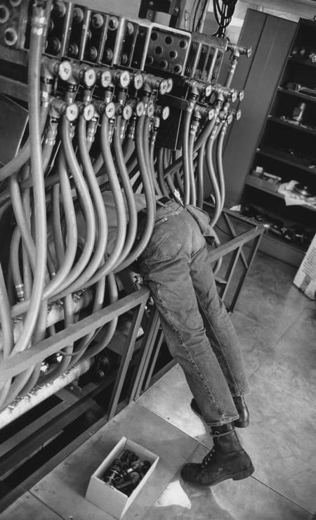 California. Stanford University. Linear accelerator. Foto: Henri Cartier-Bresson / ©Henri Cartier-Bresson / Magnum