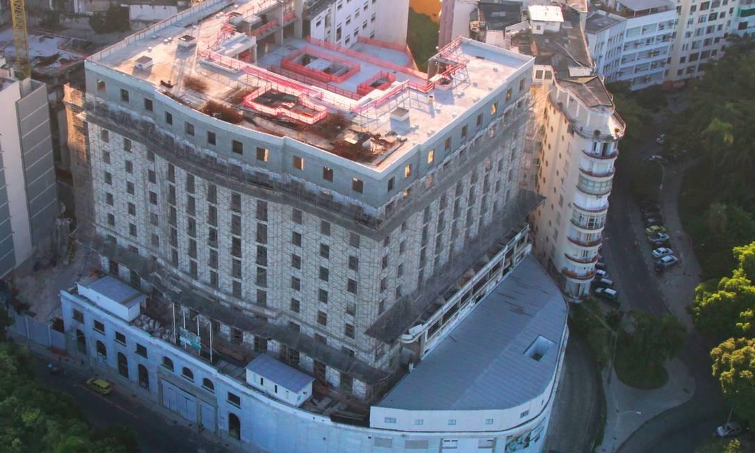 Hotel Glória: acordo de compra fechado no sábado Foto: Genilson Araujo / O Globo
