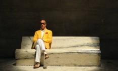 """""""Mais sexy"""". Toni Servillo no set de """"A grande beleza"""", de Paolo Sorrentino, que recebeu ontem indicação ao Oscar de melhor filme Foto: Divulgação/GIANNI FIORITO"""