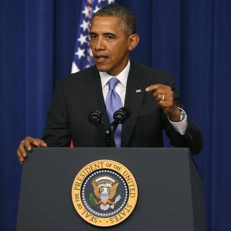 Presidente Barack Obama vai anunciar reforma significativa nos programas de vigilância dos EUA Foto: MARK WILSON / AFP