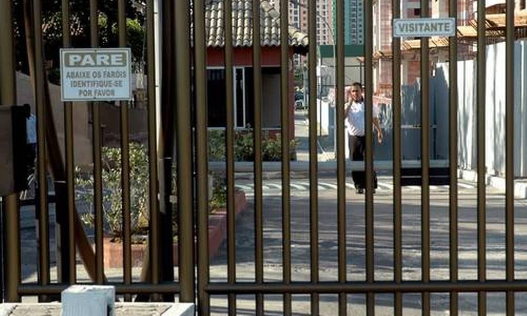 Condomínios reforçam segurança Foto: Alexandre Durão/Agência O Globo