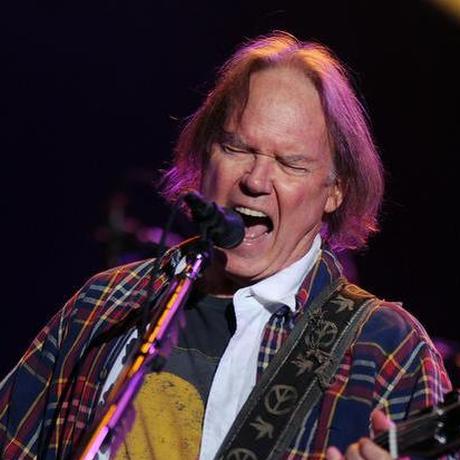 O músico Neil Young Foto: AP