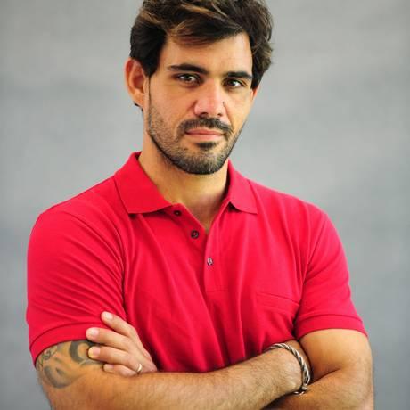 Juliano Cazarré é o protagonista de 'Serra Pelada', no ar a partir desta terça na Globo Foto: TV Globo / João Cotta