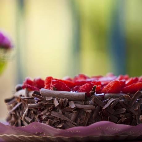 Chocolate e morango: uma dupla cheia de flavonoides, que pode servir como escudo para o diabetes tipo 2 Foto: Guilherme Leporace / Agência O Globo