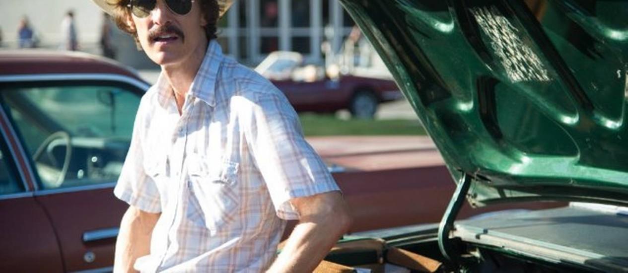 Matthew McConaughey em cena de 'Clube de compras Dallas' Foto: Divulgação