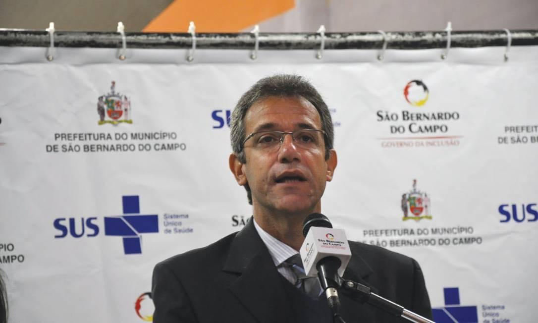 O secretário municipal de Saúde de São Bernardo do Campo, Arthur Chioro Foto: Cosems-SP/Divulgação