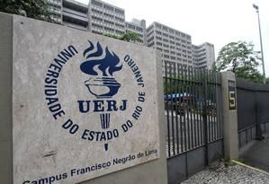 O campus da Uerj no Maracanã Foto: Alexandro Auler / Agência O Globo