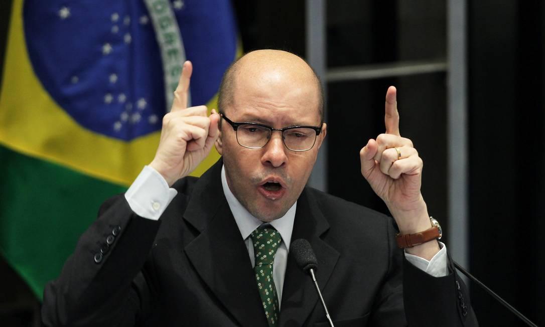 O senador cassado Demóstenes Torres Foto: Ailton de Freitas/11-7-2012 / Agência O Globo